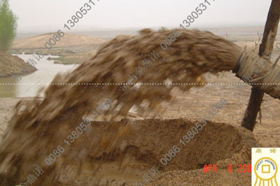 潜水泥浆泵出沙效果