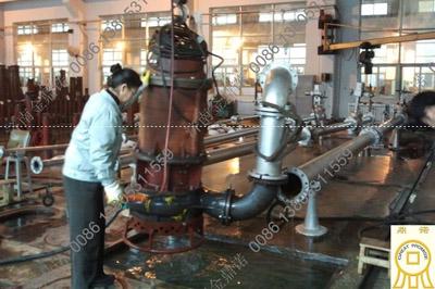 潜水抽沙泵出厂检测