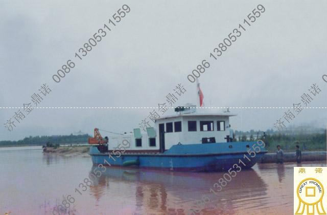 黄河抽沙船