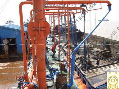 运沙船吸沙泵卸沙使用方案