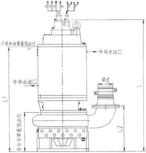 潜水抽砂泵结构图(1)