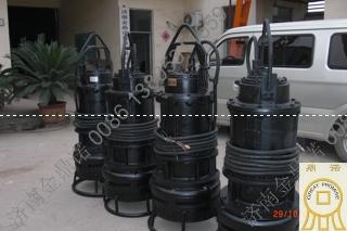 [河北曲阳]陶瓷厂客户订购潜水抽砂泵