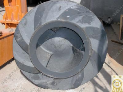 这一点尤其体现在抽沙泵叶轮等过流部件上,叶轮加工工艺相当复杂,包括图片