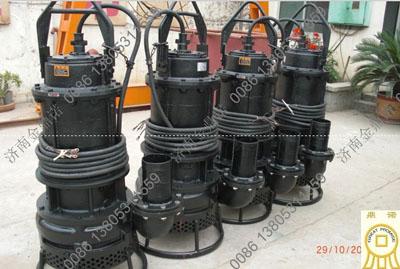 广西客户订购金鼎诺潜水抽沙泵