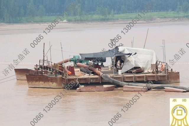 [黄河]泥浆泵3公里远距离输送淤堤