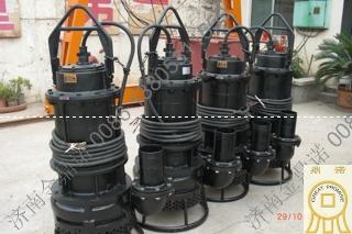 安徽刘经理再次选择NSQ潜水吸沙泵
