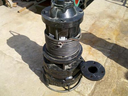 [吉林]公主岭国能发电公司订购3千瓦潜水吸沙泵