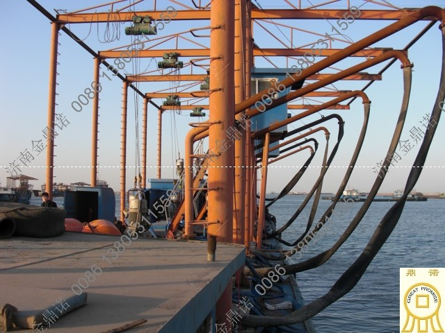 运沙船每小时卸沙300立方,输送10公里方案