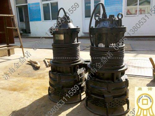 河北潜水抽沙泵客户再次订购