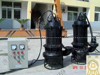 广东客户使用的潜水吸沙泵