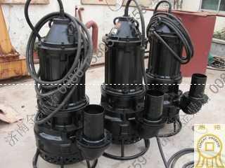 新疆客户购买22KW潜水泥浆泵两台