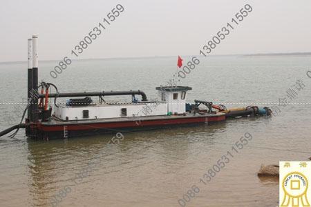 东营120方绞吸式抽沙船