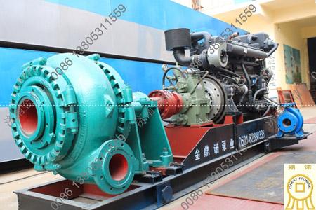 大颗粒柴油机抽沙泵机组
