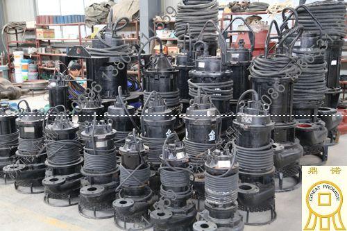 [广东]NSQ潜水吸沙泵,钛白粉厂抽石灰石浆液