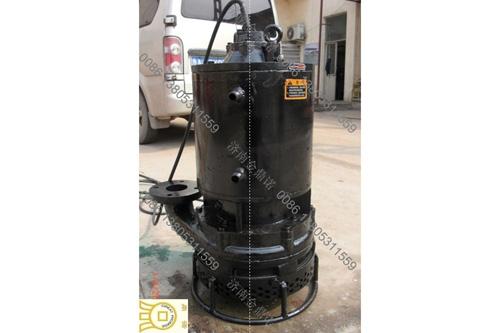 [河南信阳]7.5千瓦潜水抽砂泵,抽取车间加工料渣