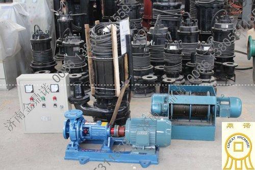 [河南焦作]洗煤厂耐磨潜水泥浆泵 金鼎诺 厂家直销
