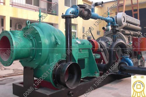 柴油机大功率抽砂泵
