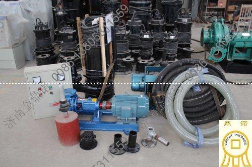 [广东]汕头路桥公司4寸潜水泥沙泵沉箱抽沙