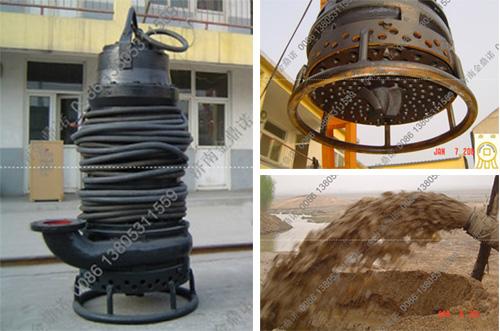 [福建福州]55KW大型潜水吸沙泵 耐磨耐用选择金鼎诺