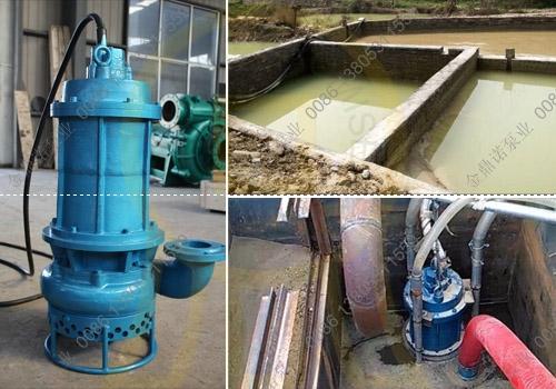 [湖南邵阳]潜水吸沙泵NSQ100-18-15 用于洗沙池清淤