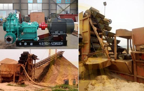 [河南]河道挖沙船配套8寸卧式吸沙泵 实现远距离输送
