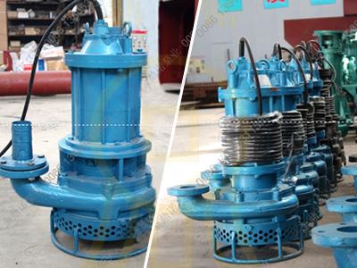 [吉林]3千瓦潜水吸沙泵,用于污水厂排泥清淤
