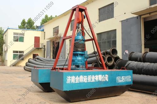 潜水泥浆泵清淤平台