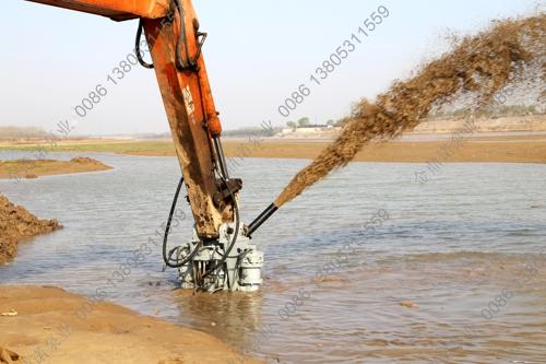 液压挖泥泵使用效果