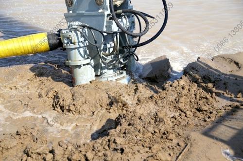 铰刀挖泥泵使用效果