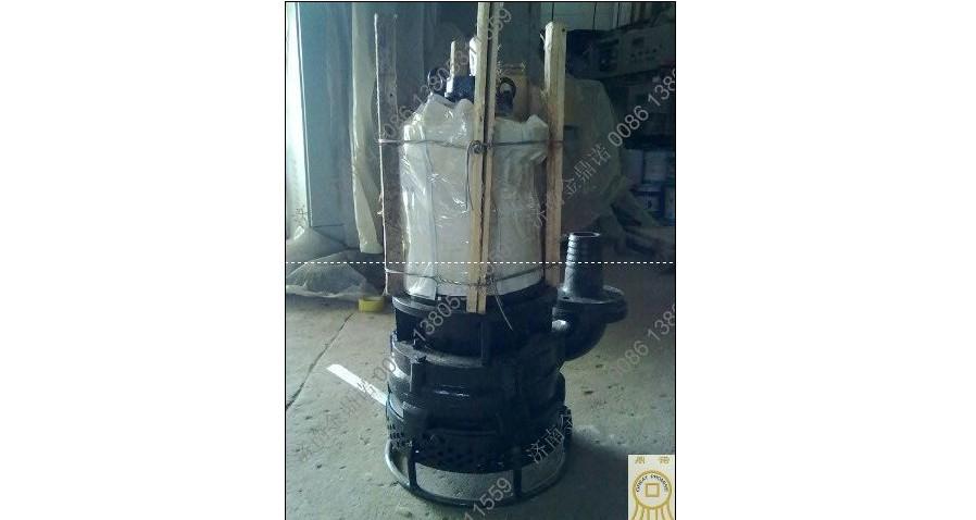 [云南昆明]电厂客户订购5.5千瓦潜水吸沙泵