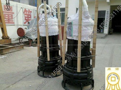 云南昆明矿业公司订购潜水矿砂泵NSQ100-60-45