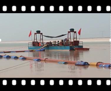 [山东]潜水泥沙泵水库清淤视频