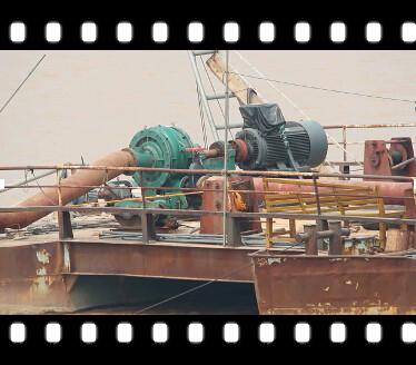 PN船用泥浆泵黄河清淤视频