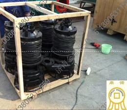[湖南湘乡]7.5千瓦潜水抽沙泵用于小河道采沙