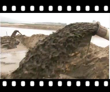 [视频]陕西10寸耐磨抽沙泵使用效果