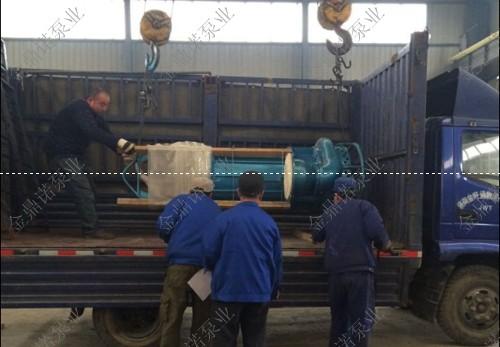 大型潜水泥沙泵,青海国企抽取化工原料的不二之选