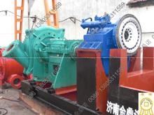 [江苏盐城]高扬程抽沙泵机组800米远距离输送