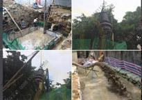 [福建]22KW潜水泥浆泵沉井排泥施工