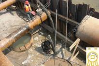 [陕西西安]22KW潜水泥沙泵桥梁沉井施工