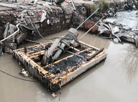 [福建]河道清淤、疏浚工程专用立式泥沙泵