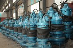 [青海西宁]NSQ50-21-11型潜水吸沙泵,用于沉淀池清淤