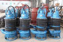[陕西榆林]老客户再次订购潜水抽沙泵,抽取矿坑煤泥