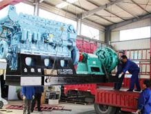 [江苏]运沙船卸沙泥沙泵机组