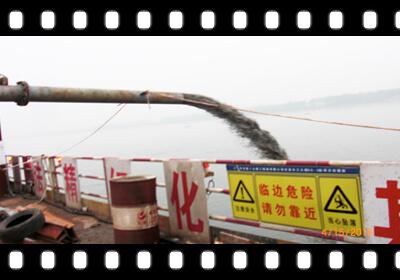 75千瓦大颗粒潜水抽沙泵钢板桩清基视频