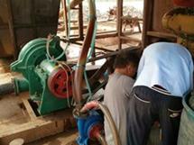 [山西临汾]8寸卧式抽沙泵用于抽送河道细沙