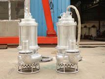 [新疆]耐磨不锈钢潜水抽沙泵 矿业公司选择