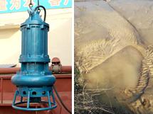 [湖南株洲]22KW潜水抽沙泵,抽取河道尾沙