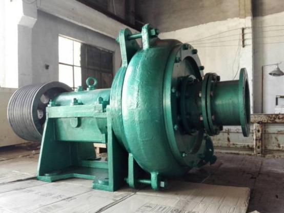 [陕西汉中]8寸卧式抽沙泵输送河道粗沙