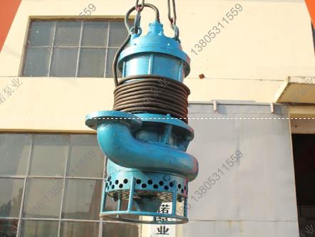[重庆]11KW潜水泥浆泵瓷砖厂抽取瓷砖粉末