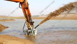 【广东】客户采购YQS液压抽沙泵用于河道抽沙